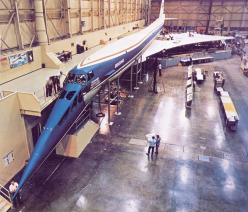 Boeing 2707-300  Full-scale mockup, Plant 2 complex, 1966: Models, Boeing 2707, Airplane, Supersonic Transport, Aircraft, 2707 Sst, Boeing Sst