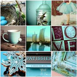 @Bre Wedding colors very pretty.  Foppolo by Night (by Pierpaolo.): Colour, Chocolate, Mood Boards, Turquoise, Blue, Color, Collage Moodboard, Moodboards, Aqua