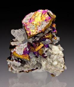 Chalcopyrite with Quartz from Colorado  by Dan Weinrich: Gemstones Minerals, Colorful Gemstones, Dan Gemstones, Colorado, Quartz, Crystals Gemstones, Gem Minerals Crystals Rocks