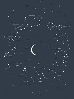 Constellation Poster by Andrew Martis | HOLSTEE:: Constellation Posters, Constellation Tattoos, Constellation Chart, Gift Constellation Poster, Constellations Astronomy, Stars Universe Constellations, Zodiac Constellations, Design