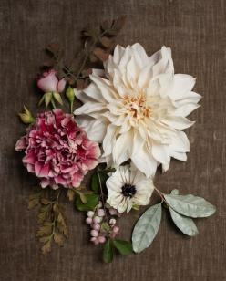 corsages- not for your high school prom any more: Color Palettes, High School, Wedding, Pretty Flowers, Thanksgiving Table, Floral Inspiration