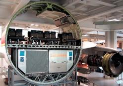 cross section of an airbus: Photos, Amazing, Stuff, Commercial Airplane, Things Cut, Crosses, Planes