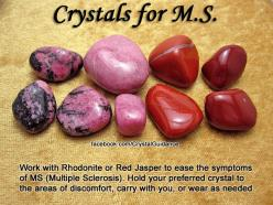 Crystal Guidance: Crystal Tips and Prescriptions - MS Multiple Sclerosis Crystals stones rocks magic love healing: Crystals Gemstones Rocks, Ms Multiple, Healing Crystals, Crystals Stones, Crystal Guidance, Healing Stones, Multiple Sclerosis, Crystal Heal