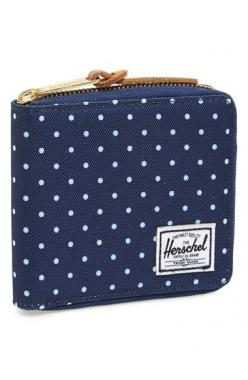 Cute polka dot wallet http://rstyle.me/n/peaxhnyg6: Wallets, Blue, Herschel Supply, Wallet S