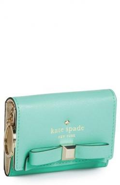 Cutest. wallet. ever. http://rstyle.me/n/grgh2n2bn: Ks Handbags, Stuff, Kate Spade Purse, Purses Wallets, Mk Handbags, Christmas Gift, Katespade, Handbags Wallets