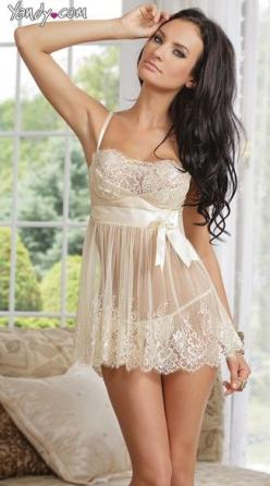 Discover lingerie like this Ivory Elegance Babydoll and G-string set available now at Yandy and get a free panty with purchase. #Yandy: Honeymoon, Lace Babydoll, Ivory Lace, Wedding, G String, Sexy Lingerie, Baby Doll, Elegance Babydoll