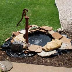 {DIY Garden Pond!}: Pond Idea, Diy Gift, Front Yard, Garden Ponds, Tire Pond, Water Garden, Diy Garden