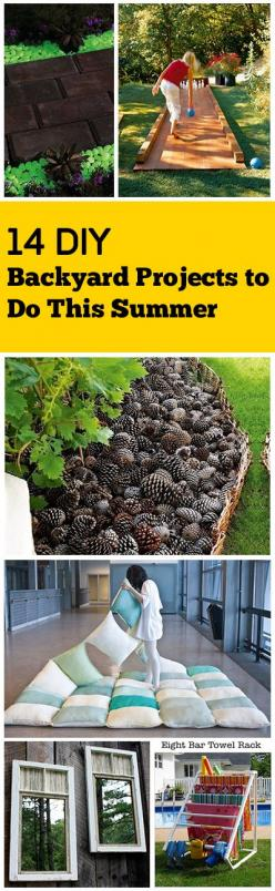 DIY Projects for your yard and garden that are amazing. Fun Ideas, Tips, Tricks, DIY projects and Tutorials.: Backyard Projects, Diy Backyard, Diy Outdoor, Backyard Diy Ideas, Fun Ideas, Backyard Design Ideas, Backyard Garden Ideas Diy, Diy Projects, Diy
