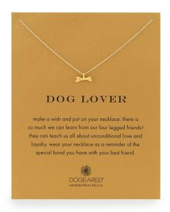 Dog Lover Bone-Pendant Necklace by Dogeared at Neiman Marcus. Nicely done. #dog #jewelry #DogLover http://caninesforchange.com/: Jewelry Doglover, Dog Lovers, Gift Ideas, Bone Pendant Necklace, Surprise Gifts, Christmas Gifts, Dog Jewelry