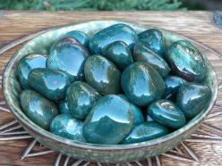 DRAGON STONE: Use at the 1st Chakra (Root Chakra/Base Chakra) or 4th Chakra (Heart Chakra) for cleansing and purifying the blood, to instill courage and bravery, to physically and emotionally heal the heart, to increase vitality and strength, for power, t