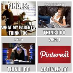 Finals week. So true. That's me. I pulled a nice A in pharmacology and got 98% on final. Highest in class. :) I must be doing something right.: Giggle, College Life, Finals Week, Funny, So True, Funnies, Sounds