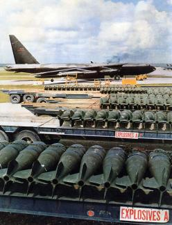 Flight Line image from Andersen AFB, GUAM nearing the end of the war with Vietnam.: B52, Air Force, Airplanes, Vietnam War, B 52, Aircraft, Posts, War Birds