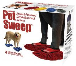 floor-sweeping-dog-shoes----LOL....OMGosh these are awesome!!!!! But my dogs.... especially the older one would be going insane trying to get them off!!! Oh what fun!!! LOL: Gift, Idea, Dogs, Funny, Products