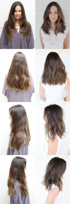 For more #hairstyles, check out http://www.frilla.se: Medium Hair Cut With Layer, Lob Hair With Layer, Medium Length Hair With Layer, Medium Length Hair Cut, Midlength Hairstyle, Medium To Long Hair Cut, Medium Length Haircut, Long Haircut With Layer