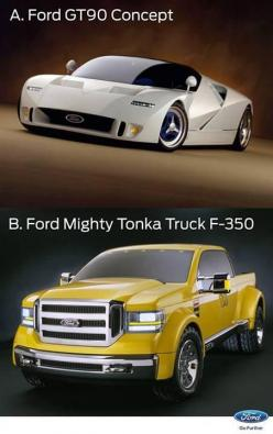 Ford Gt-90 Yellow Tonka F-350 concept vehicles: Chevy Trucks, Ford Vehicles, Trucks Chevy, Ford Trucks F150, Trucks Ford F150, Concept Vehicle, Cars Trucks