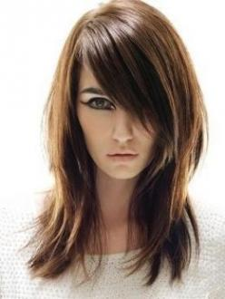 Fringe & layers: Hair Ideas, Haircuts, Hairstyles, State, Hair Styles, Makeup, Long Hair, Hair Cut, Beauty