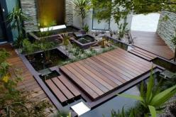 Google Image Result for http://www.eveedu.com/public/upload/76873modern-landscaping-design-photo.jpg: Garden Ideas, Garden Design, Water Features, Outdoor, Gardens, Waterfeature, Backyard, Landscape, Water Garden