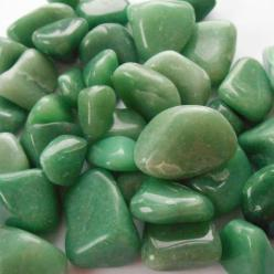 Green Aventurine is a stone of opportunity, luck, harmony, healing, and peace. Green links with the heart chakra. Lay over the heart for healing. Add it to a prosperity grid. Place in a box with money to increase wealth. Meditate to invoke harmony and pea
