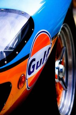 Gulf racing Ford GT40; blue and orange are complimentary colors... for chrome: Race Cars, Sports Cars, Sport Cars, Ford Gt40, Auto, Gulf Racing