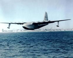 "H-4 Hercules ""Spruce Goose"". Nov. 2, 1947. It flew once, and for less than a minute.: 1947 Howard Hughes, Aircraft, Hercules Spruce, Military Airplanes"