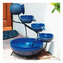 I want this for my deck. The pooches would love it, too. Solar Water Fountain: Four-Tier Cascading Fountain | Gardeners.com: Solar Cascade, Cascade Fountain, Cascade Solar, Outdoor, Gardening, Bath Fountain, Solar Bird