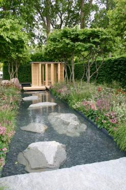 Laurent-Perrier Garden by Luciano Giubbilei – Nature & Human Intervention: Modern Gardens, Garden Design, Water Gardens, Water Features, Outdoor Water Feature, Garden Water Feature, Backyard, Modern Water Feature, Outdoor Projects