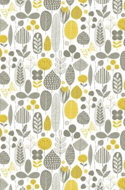 Meadow | Not On The High Street: Ideas, Inspiration, Wall Paper, Illustration, Loboloup Meadow, Meadow Wallpaper, Wallpapers Prints Patterns, Design