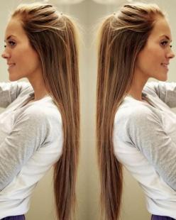 My hair inspiration. One day I will have hair this long! <3: Hair 3, Hair Colors, Straight Hair, Long Hairstyles, Hair Goals, Longhair, Pretty Hair, Long Hair Styles