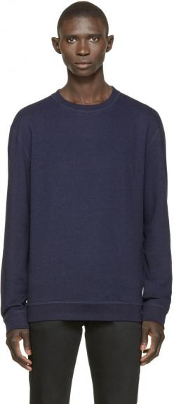 Navy French Terry Pullover: Terry Pullover, Products, French Terry