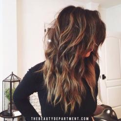 Our 7 favorite kinds of layered haircuts and how to ask for them, now up on thebeautydepartment.com!: Hairstyles, Hair Colors, Hair Styles, Haircolor, Long Hair, Hair Cut
