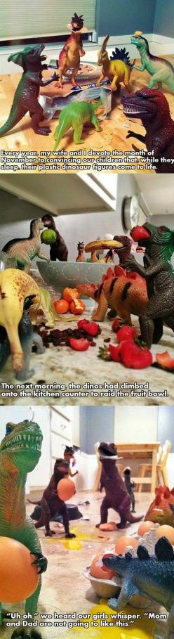 Parenting at its finest. - Imgur: Parenting You Re, Parents, Idea, Awesome, Funny Stuff, Parenting Win, Kids, Elf On The Shelf