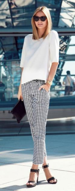 perfection. for work pair with a tailored white shirt and classic black stilettos. corporate fashion. CORMONY.: Fashion, Inspiration, Black And White, Street Style, Spring Summer, Street Styles, Work Outfit, White Top