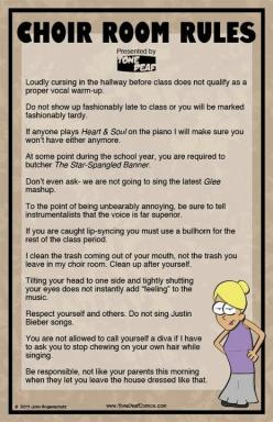 Pinning for the humor but, more importantly, the idea of using a bullhorn if kids don't sing out.: Choir Teacher, Choirs, Music Teacher, High School, Choirroom, Choir Room, Music Classroom, Music Education