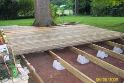 platform deck: Supports Sold, Deck Ideas, Platform Deck, Outdoor, Patio Decks, Deck Patio, Home Depot, Garden, Floating Deck