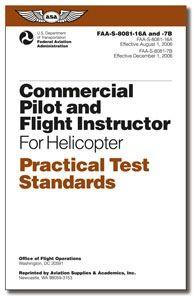 PTS - Commercial Pilot and Flight Instructor Helicopter: Practical Test, Test Standards, Commercial Pilot, Instructor Helicopter