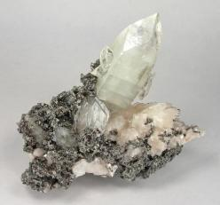 quartz and what is that? lead silver nickel iron what. beautiful: Precious Stones, Crystals Minerals Gemstones, Inspiration, Quartz Crystal, Rocks Minerals, Colorful Gemstones, Beautiful, Nature S, Things
