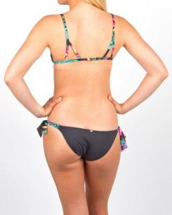 Rip Curl Paradise Found Tie Side Bikini Bottom: Rip Curl