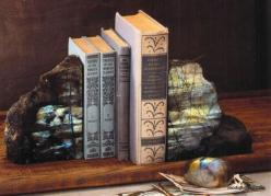 Roost Labradorite Bookends & Paperweight  * Next Day Shipping: Labradorite Bookends, Products, Roost Raw, Roost Labradorite