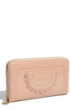 See by Chloe patent zip around wallet in annette (pink): Chloe Lovers, See By Chloe, Purse Wallets Clutchbag, Wallet Nordstrom, Chloe Patent, Fashion Inspiration, Chloe Wallet