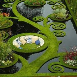 Sit in the middle of this beautiful garden and enjoy the beauty! :)  http://www.pinterest.com/Tchochke/outside-spaces/: Ideas, Dream, Outdoor, Gardens, Places, Space, Water Garden, New Zealand