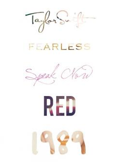 Taylor Swift,Fearless,Speak Now,Red,1989❤️❤️: Taylor S Albums, Taylor Swift Red, Swift Albums, Taylorswift, T Swift, Swift Eras, Taylor Swift Fearless, Hand Hand, Taylor Swift Songs