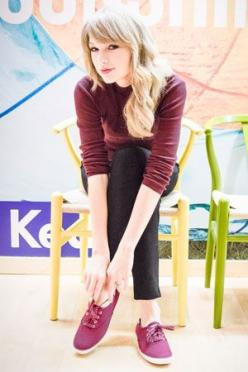 Taylor Swift Talks Social Media, Style, and Her Latest Collection for Keds: Taylor Swift, Talks Social, Taylorswift, Style, Swift Keds, Latest Collection, Keds Outfit, Hand Hand, Swift Talks