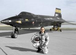Test pilot in front of X-15 rocket plane: Military Aircraft, Knights, Peteknight, Rockets, Pete Knight, Rocket Powered Aircraft