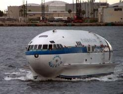 The Cosmic Muffin started it's life as Howard Hughes plane before it was converted into a house boat.: Muffins, Airplane, Ship, Boats, Cosmic Muffin, Planes