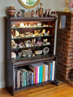 this would great for the rocks and minerals I want to display: Minerals Rocks Etc, Rock Display, Display Cabinets, Rocks And Minerals, Minerals Display, Rock And Mineral Display, Crystals Rocks, Gems Rocks Fossils