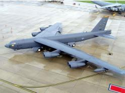 TOP 10 LARGEST MILITARY AIRPLANES - BOEING B-52 STRATOFORTRESS - #5: B 52 Stratofortress ️, Military Aircraft, Aircraft Spacecraft, Arcspraying, B52 Stratobomber, Military Airplanes