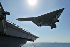 US Navy's Unmanned X47-B Jet Lands On Aircraft Carrier For The First Time: Naval, Armed Drones, Combat Air, Aircraftcarrier, Military Drones, Aircraft Carriers, Intelligence