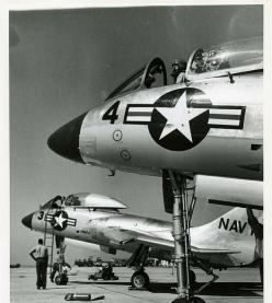 /via Kemon01. 1950s USN F7U Cutlass: Fighter Planes Jets, Airplanes Rockets, Aircraft Jets, Flickr Plane, Kemon01 Flickr, Escala Aviones, Aviones Helicopteros
