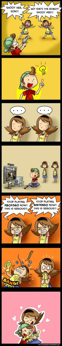 video games and moms: Funny Things, Funny Pictures, Funny Stuff, Humor, Funnies, Video Games, Videogames, Mom