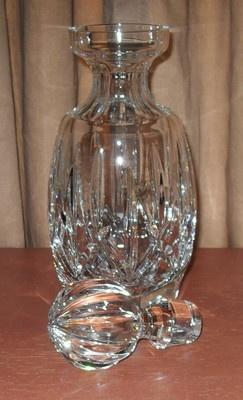 Waterford Crystal is so great.: Crystal Decanter A, Crystal, Beautiful Decanters, Waterford Crystal Linens, Beautiful Glasswork, Decanters Crystal, Waterford Crystal Glasses